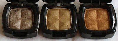 Antique Gold Eyeshadows