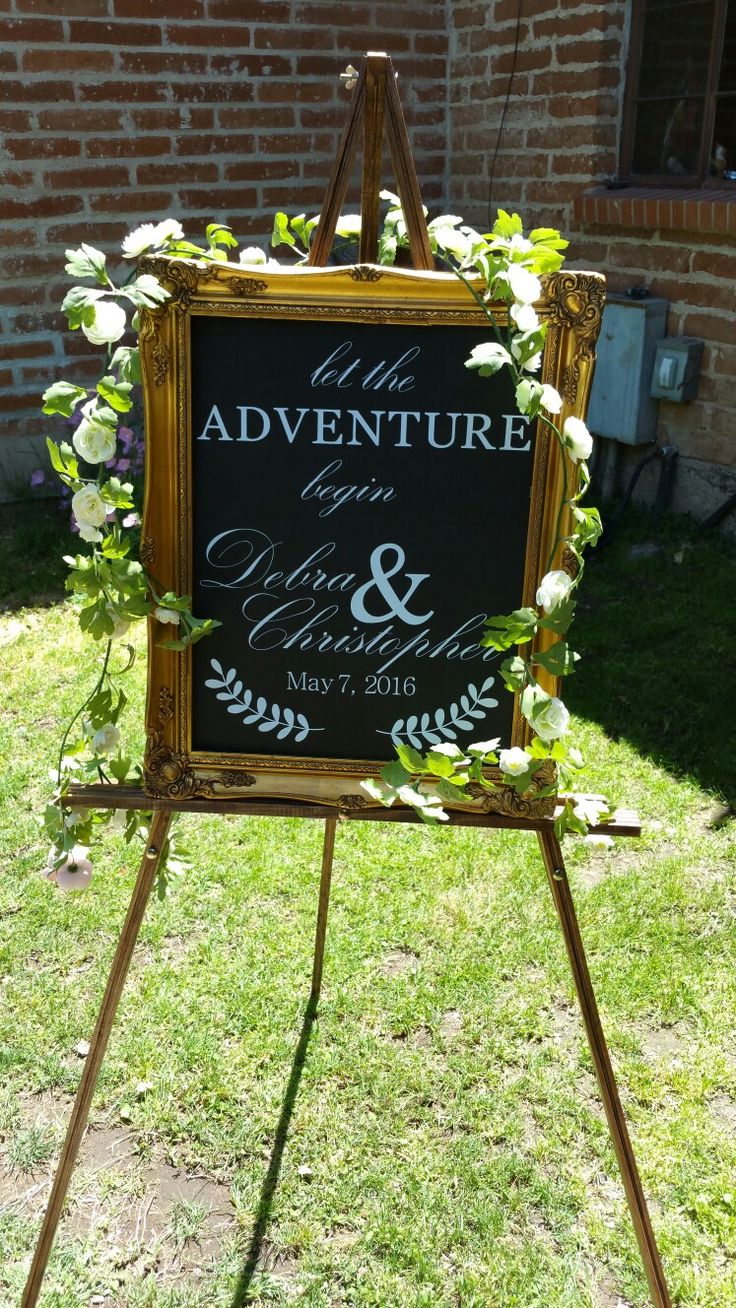 Sign by: The Bride