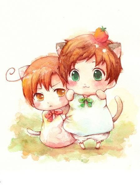 Kitty Spain and Romano!