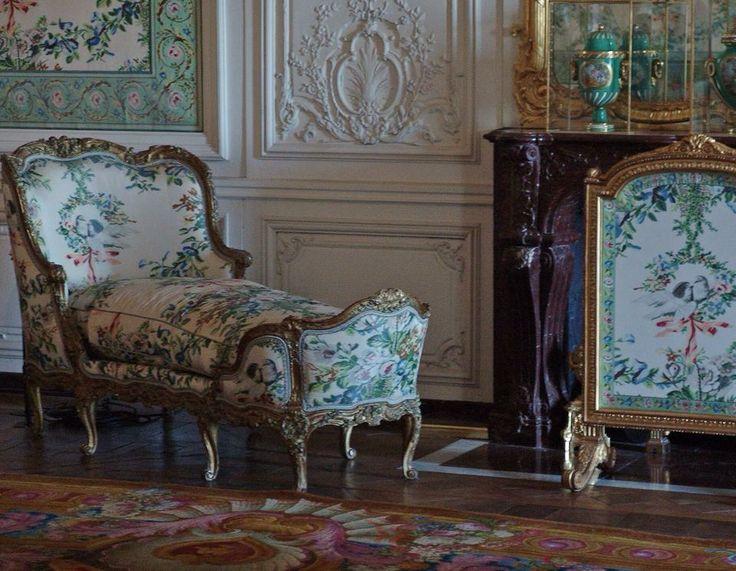 941 besten wohnkultur im rokoko bilder auf pinterest franz sisches innenr ume pal ste und. Black Bedroom Furniture Sets. Home Design Ideas