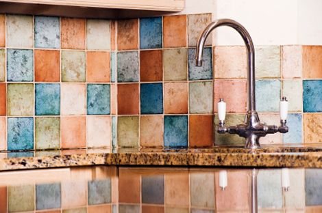 lowes copper backsplash  Five Dramatic (and Dirt Cheap) Home ...