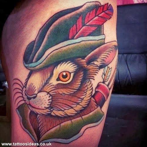 Tattoo Ideas Hood: Snake And Rabbit Tattoo - Google Search