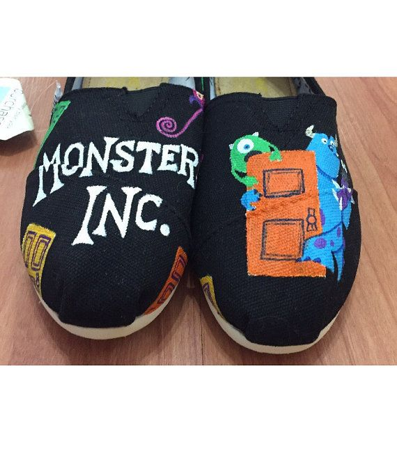 Monsters Inc Toms. Mike Wazowski Sulley & by ButterMakesMeHappy