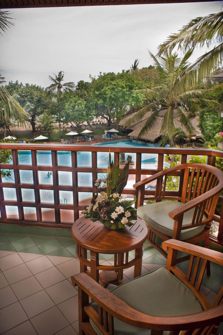 Balcony of Room Sanur Beach Hotel Bali