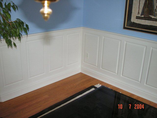 True Wainscoting 2Dining Rooms, Dining Room Wainscoting, Wainscoting Dining Room, True Wainscoting, Room Remodeling, Panels Wainscoting