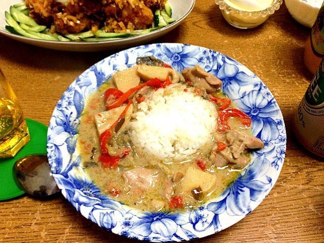 てっちゃんのお料理 - 2件のもぐもぐ - タイカレー by hitomi0124