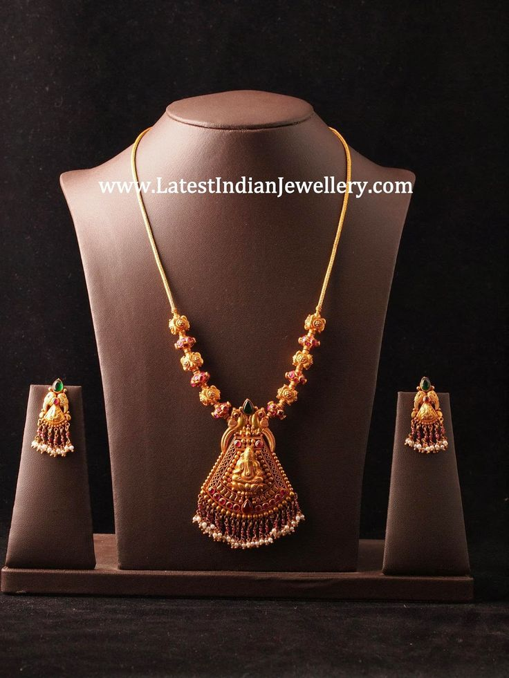 Simple Temple Jewellery Design