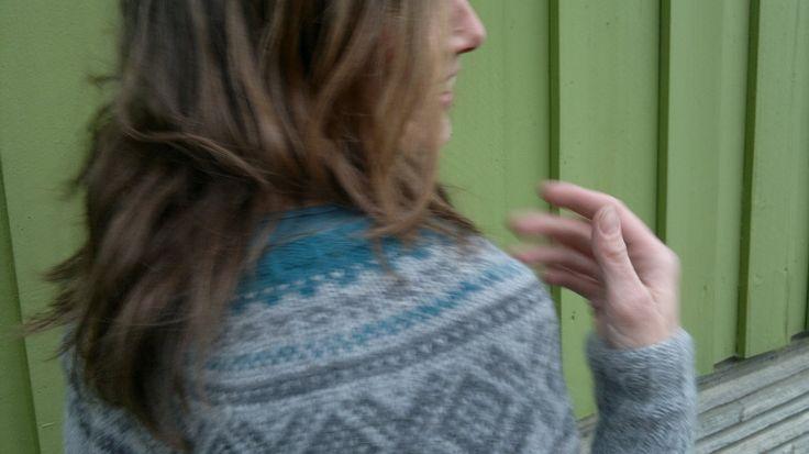 Systerstrikk: Marius på påsketur