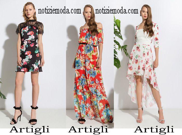 cdf78b5447fd Abbigliamento Artigli 2018 collezione primavera estate donna ...