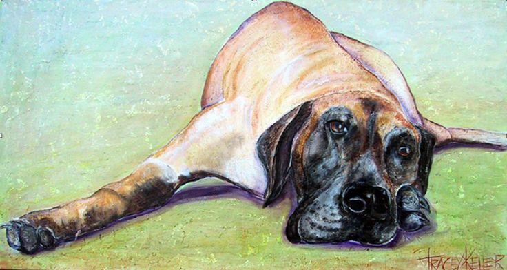 Vintage Tracey Keller Painting