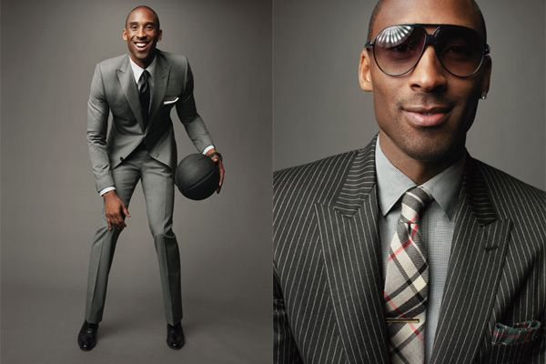 the Black Mamba in Tom Ford... <3 One of my fav pics of him in GQ!