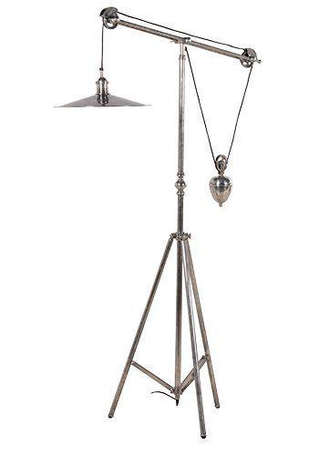 Pulley Floor Standing Lamp