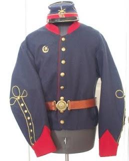 Washington Artilery - Watson's Battery tunic c. 1861: Photos Civil War