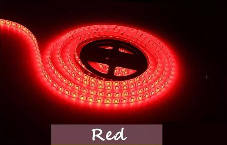 LED Strip Lights - 5 Meters (16.4') - Free DC Connector - 3 Colors