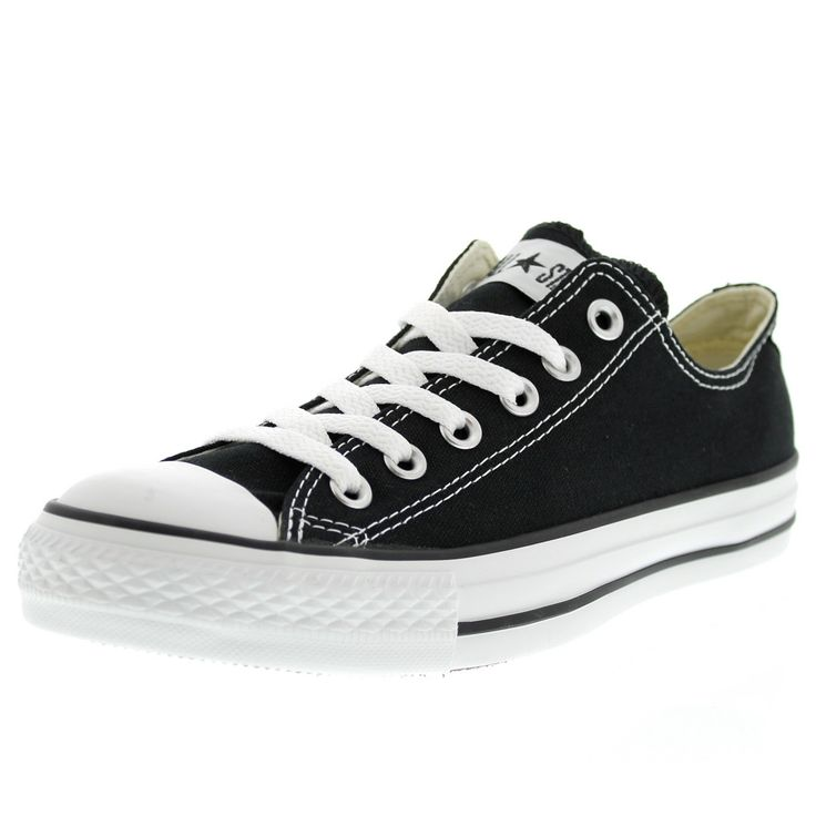 Converse - CT All Star Classic Low Canvas Sneaker (Big Kid) - Black