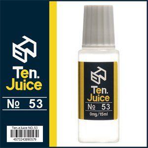 国産電子タバコリキッド Ten.eJuice NO.53 レモネード風味 #電子タバコ #vapeリキッド #電子タバコリキッド #vape #ejuice #eliquid