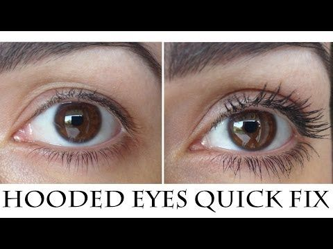 How to easily and quickly Correct Hooded - Droopy eyes - YouTube
