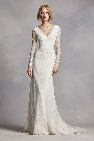Perfect White by Vera Wang Wedding Dresses u Gowns David us Bridal