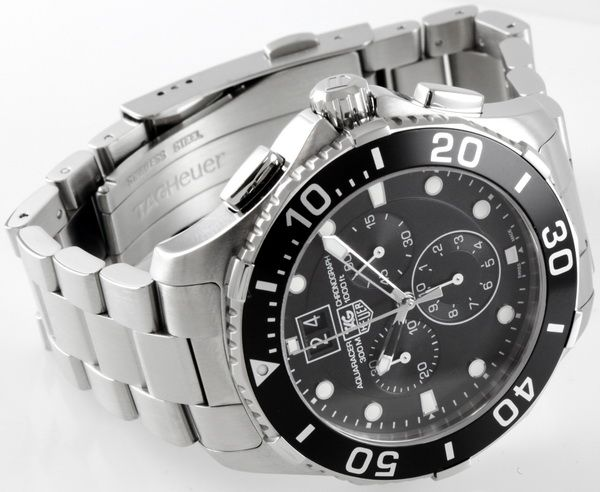 Replica TAG Heuer Aquaracer Chronograph CAN1010 Watch Review - watchesyogaalice