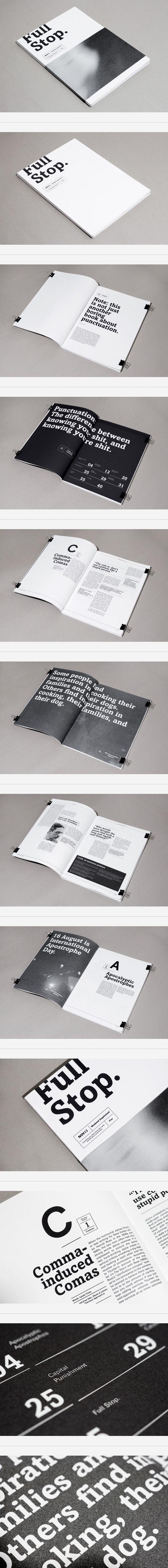 Full Stop / designed by Sidney Lim YX