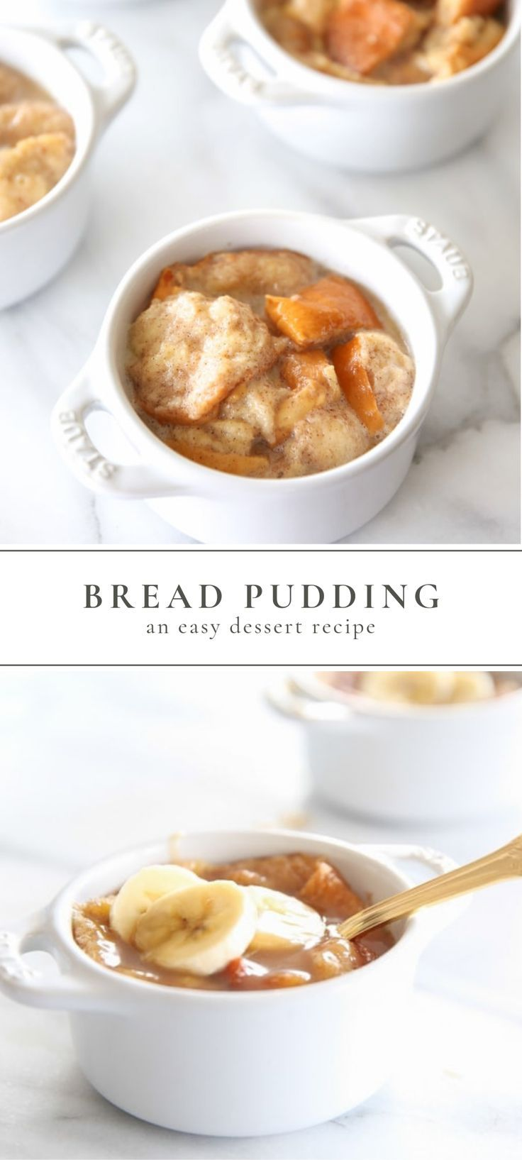 Easy Bread Pudding Recipe with Bourbon Sauce | Julie Blanner