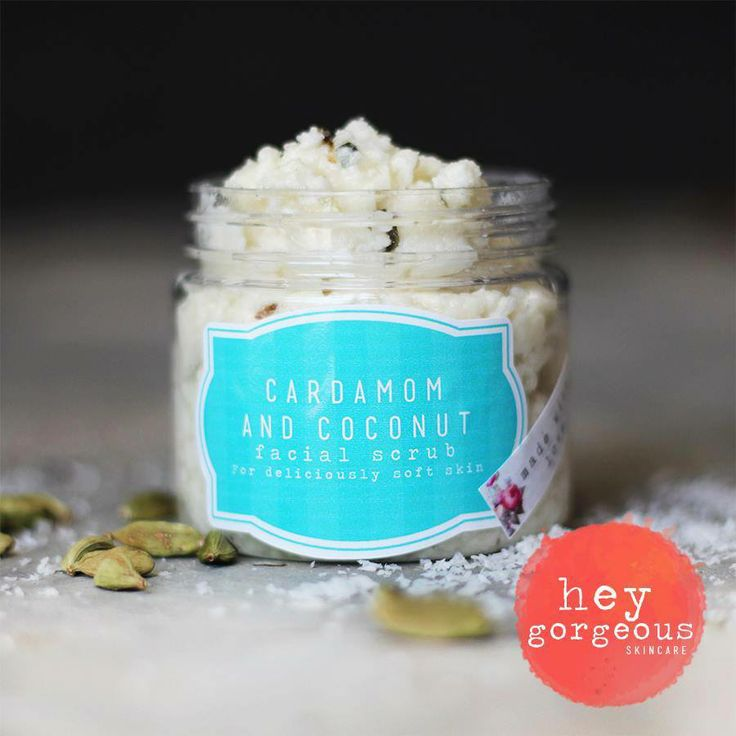 I'm totally smitten with our new Coconut and Cardamom Facial Scrub. Made with Coconut Milk Powder for skin softening properties and Cardamom essential oil to add gentle calmness to the skin. It gently polishes off tired skin cells, impurities and bacteria to leave your skin fresh, alive and radiant. It's a very soft exfoliation make it ideal for sensitive skins