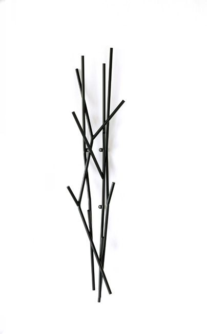 Latva Wall is an original coat rack based on a simple yet visually solid motif of a tree branch.