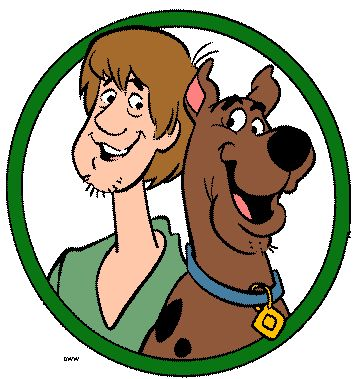 #famousfriends Shaggy and Scooby-Doo!