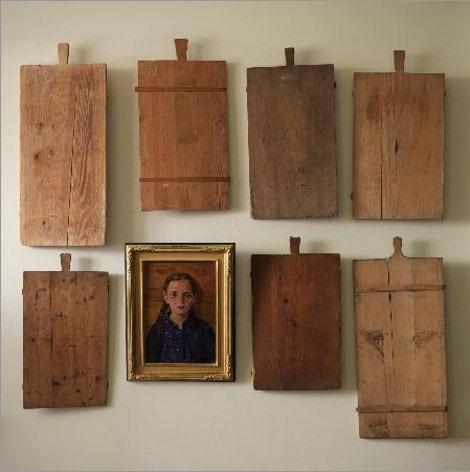 Antique bread boards