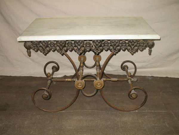 Marble Pastry Table