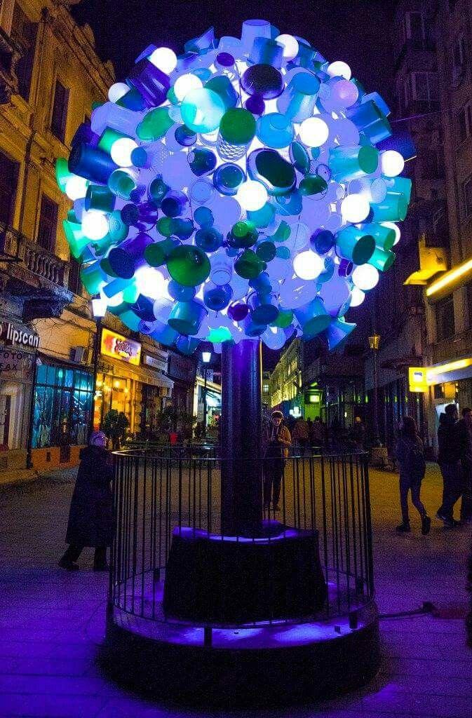 #Bucharest #Light #Festival Photo: Petru Ivu