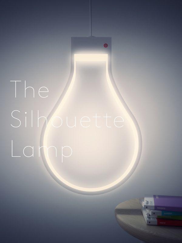 Silhouette Lamp - M Parsons