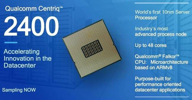 Microsoft met des puces ARM Qualcomm dans ses serveurs Azure Cloud... #informatique