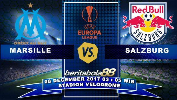Prediksi Bola Marseille vs Red Bull Salzburg 08 December 2017 Europa League