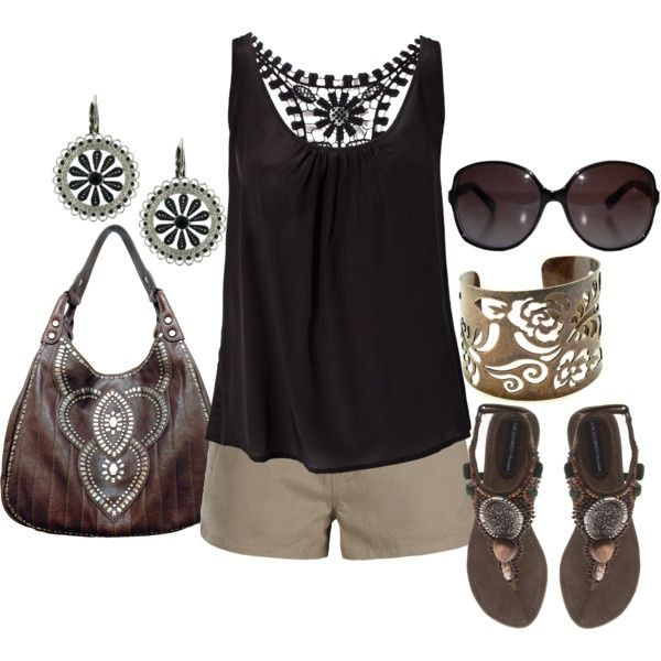 Summer black outfit!