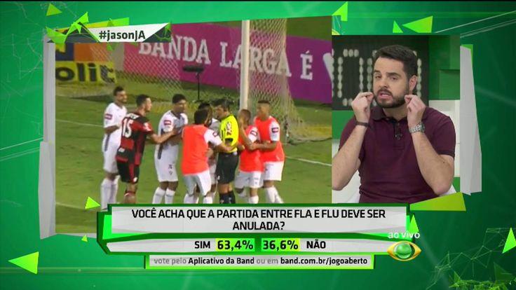 Suspensão do Fla-Flu aumenta vantagem do Palmeiras - Jogo Aberto 18/10/2016