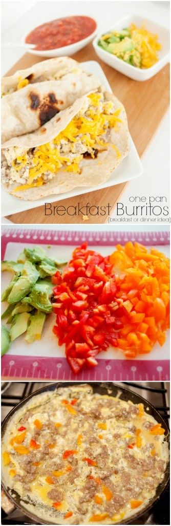 Breakfast Burritos, easy dinner idea the kids will love!  With scrambled eggs, and Italian sausage as the base, it's hearty enough for a family meal. Also learn a great trick for having fresh tortillas longer. Capturing-Joy.com