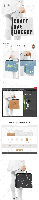 Download Craft Bag Mockup Bag Mockup Craft Bags Packaging Mockup