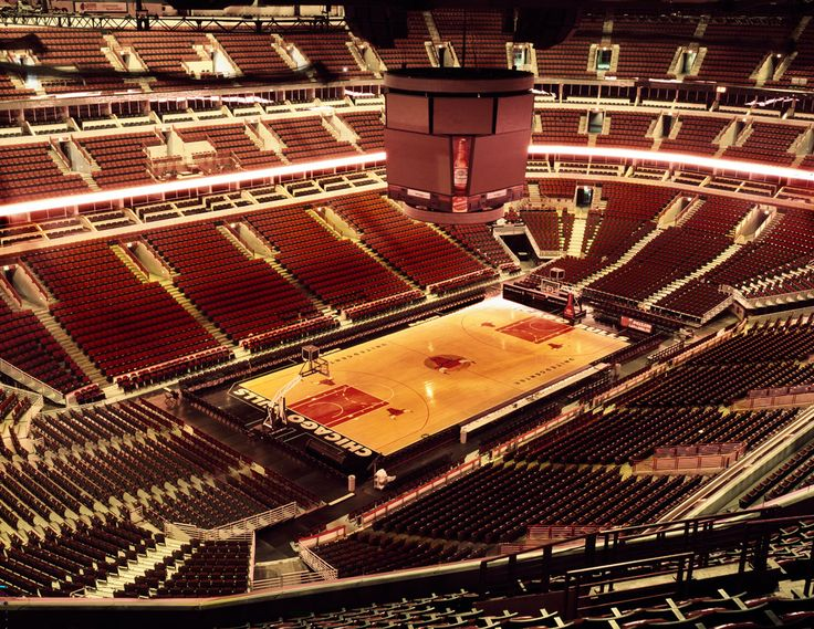 United Center Chicago - photography by Mike Schwarzt