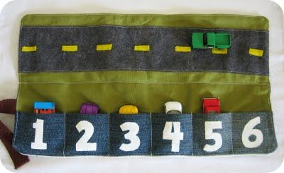 This Mommy Loves: DIY Matchbox Car Caddy by Homemade by Jill