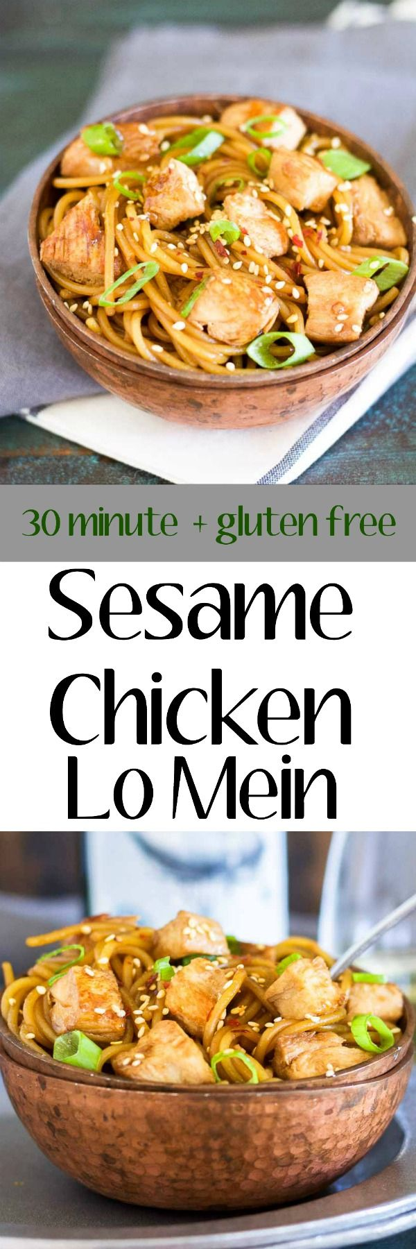 109 best easy asian recipes images on pinterest cooking food this sesame chicken lo mein is covered in a sweet sesame ginger and garlic sauce and korean recipesasian food forumfinder Images