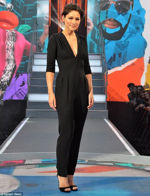 Talented: The TV presenter - who hosts Big Brother on Channel 5 - divulged her hopes for this year's dramatic series of the fly-on-the-wall reality show