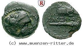 RITTER Makedonien, Alexander III. der Große, Herakles, Keule, Köcher #coins