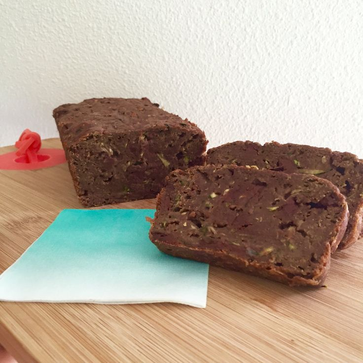 Healthy+chocolade+courgette+cake