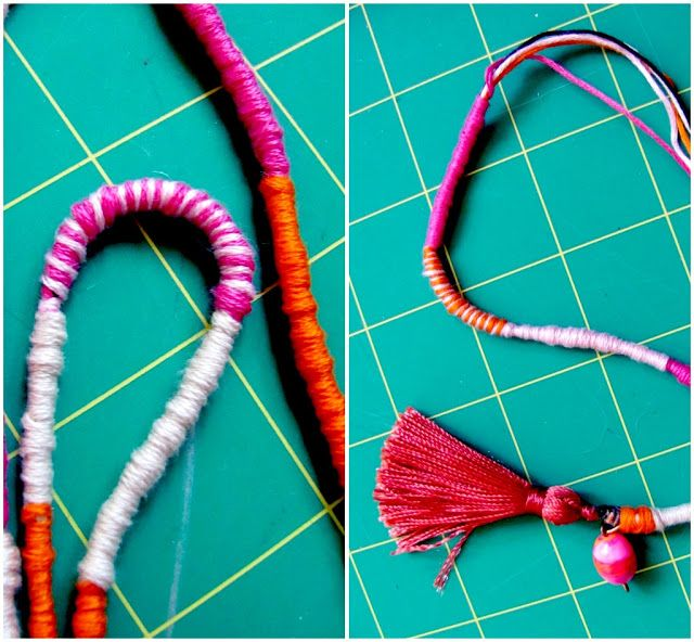 Prim and Propah: DIY Tassel Necklace, Maybe