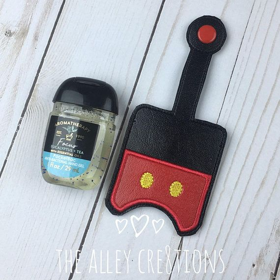 Mickey Mouse Inspired Antibacterial Hand Sanitizer Pocket Bac