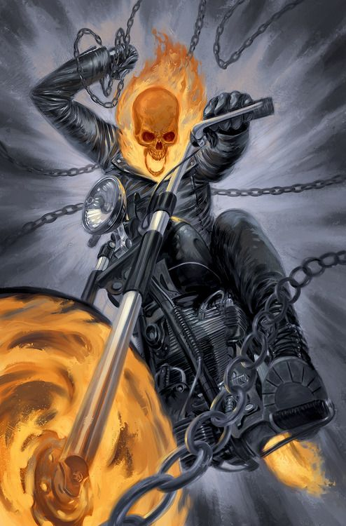 Ghost Rider by Julian Totino Tedesco