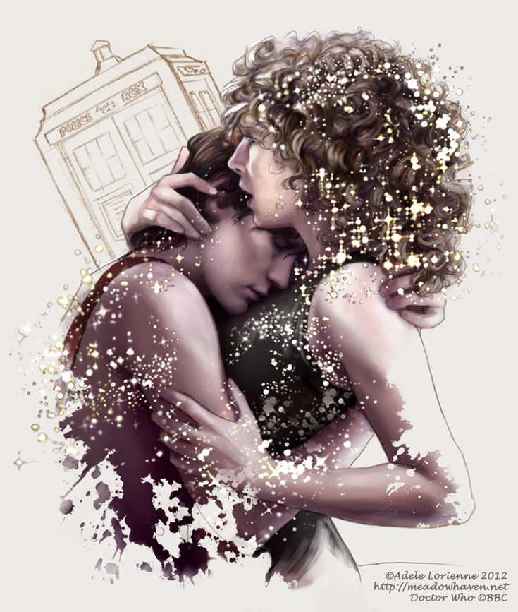 AMAZING sketch of Eleven and River called 'Among the Stars' by Adele Lorienne