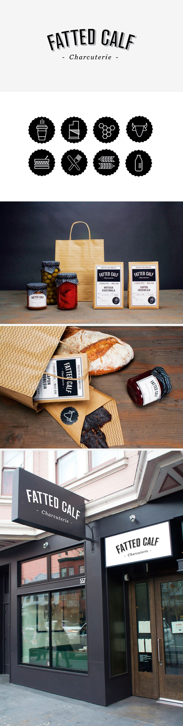 Fatted Calf #identity #packaging #branding PD