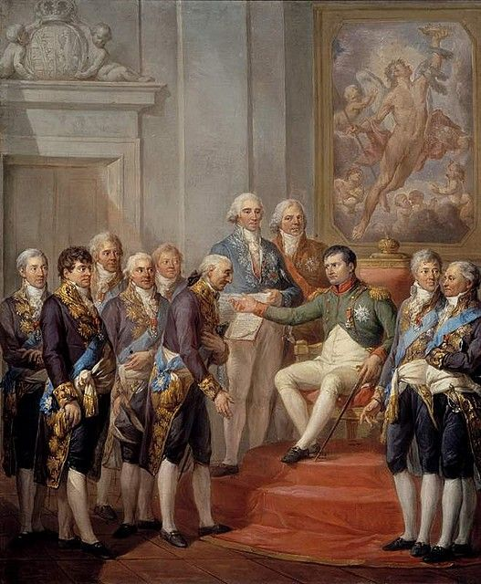 Marcello  Bacciarelli  Napoleon Proclaims the Constitution of the Duchy of Warsaw  1811